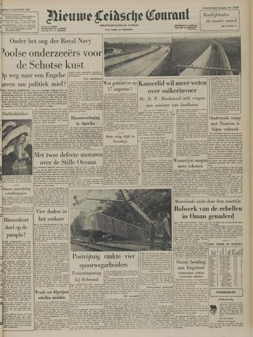Nieuwe Leidsche Courant 1957-08-09