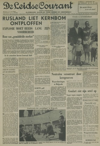 Leidse Courant 1961-09-02