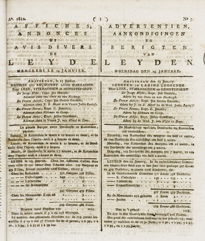 Leydse Courant 1812-01-15