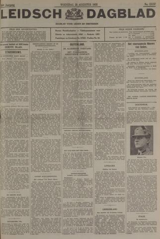 Leidsch Dagblad 1935-08-28