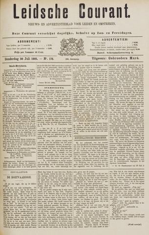 Leydse Courant 1885-07-30