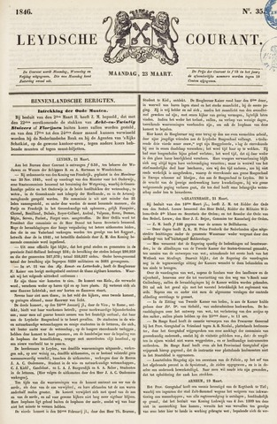 Leydse Courant 1846-03-23