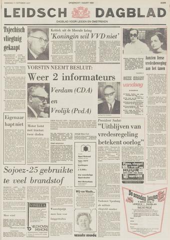 Leidsch Dagblad 1977-10-11