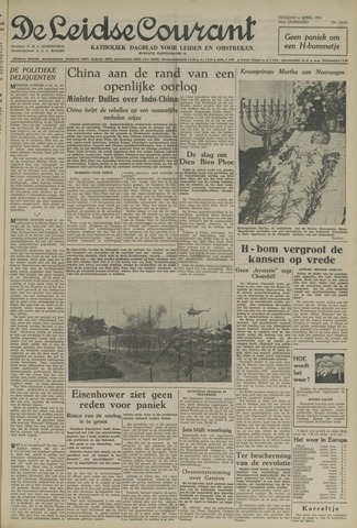 Leidse Courant 1954-04-06
