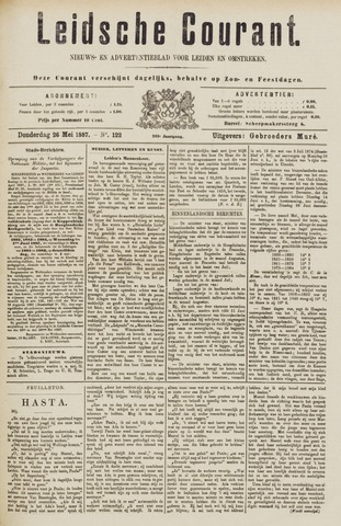 Leydse Courant 1887-05-26