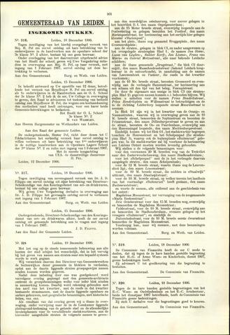 Handelingen van de Raad 1906-12-18
