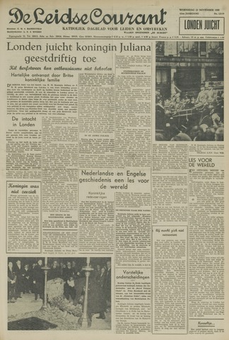 Leidse Courant 1950-11-22