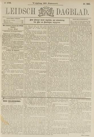 Leidsch Dagblad 1892-01-29