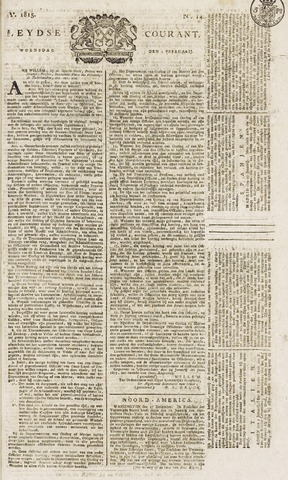 Leydse Courant 1815-02-01