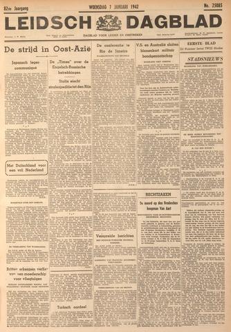 Leidsch Dagblad 1942-01-07