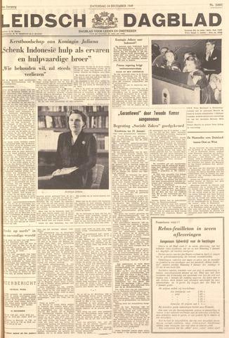 Leidsch Dagblad 1949-12-24