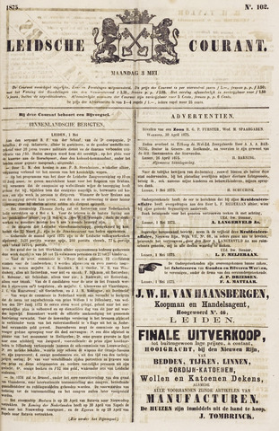Leydse Courant 1875-05-03