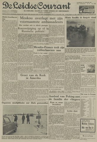Leidse Courant 1955-01-22