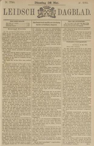 Leidsch Dagblad 1885-05-26