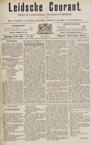 Leydse Courant 1885-07-18
