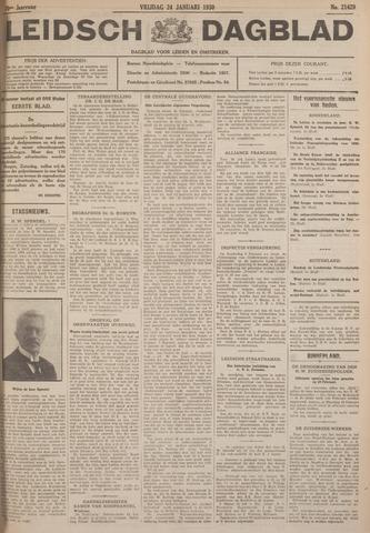 Leidsch Dagblad 1930-01-24