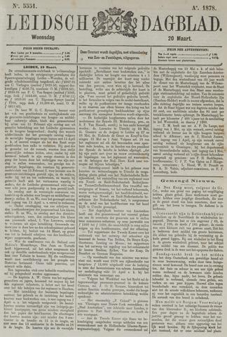 Leidsch Dagblad 1878-03-20