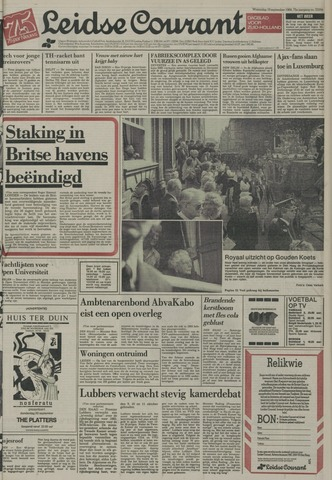 Leidse Courant 1984-09-19