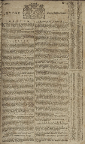 Leydse Courant 1765-02-27