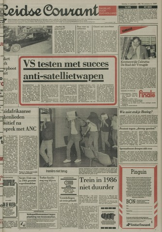 Leidse Courant 1985-09-14