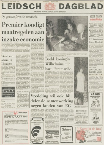 Leidsch Dagblad 1975-11-22