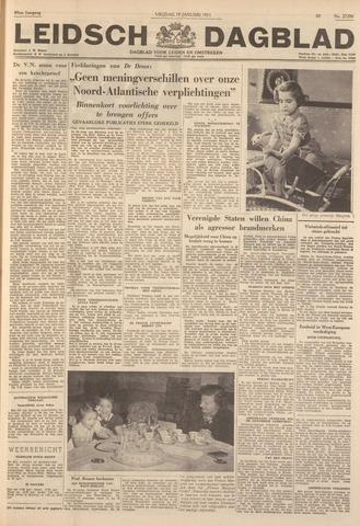 Leidsch Dagblad 1951-01-19
