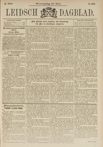 Leidsch Dagblad 1893-05-17