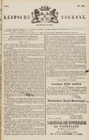 Leydse Courant 1884-06-16