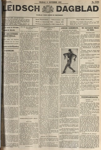 Leidsch Dagblad 1932-11-11