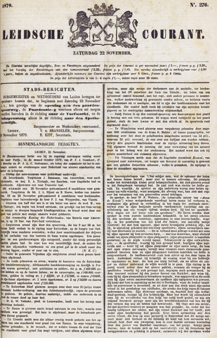 Leydse Courant 1879-11-22