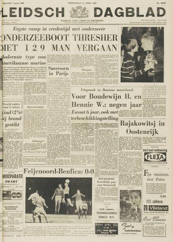 Leidsch Dagblad 1963-04-11