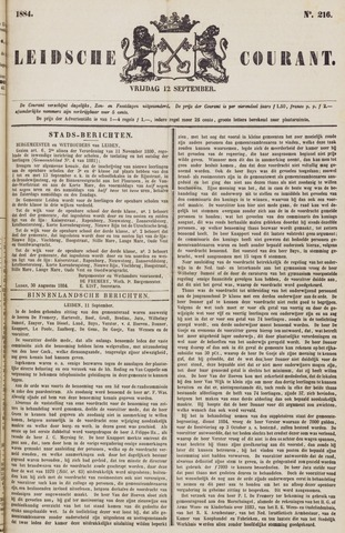 Leydse Courant 1884-09-12