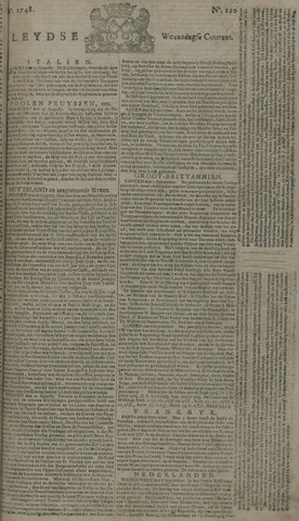 Leydse Courant 1748-09-11