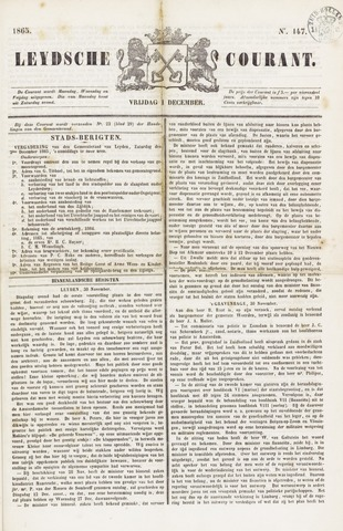 Leydse Courant 1865-12-01