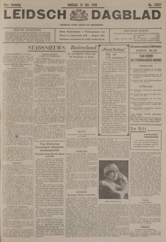 Leidsch Dagblad 1938-07-19