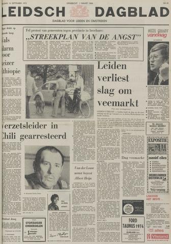 Leidsch Dagblad 1973-09-14