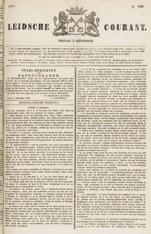 Leydse Courant 1873-09-05