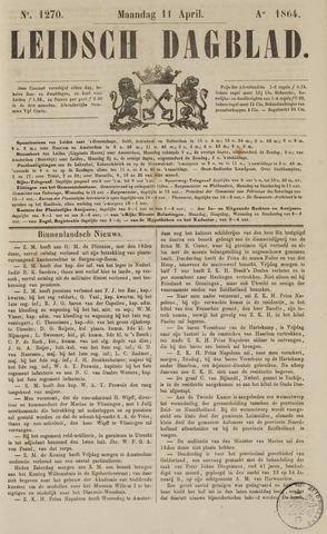 Leidsch Dagblad 1864-04-11