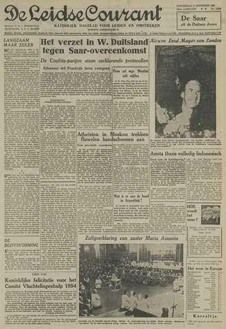 Leidse Courant 1954-11-11