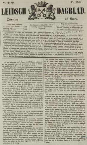 Leidsch Dagblad 1867-03-30