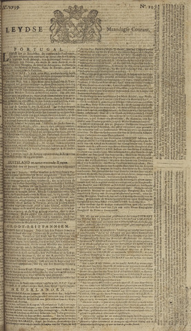 Leydse Courant 1759-01-22