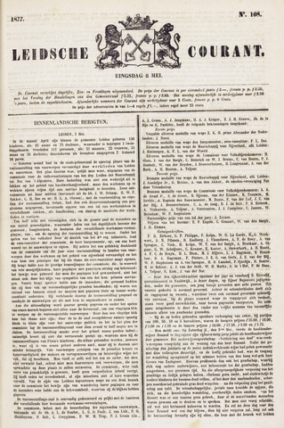 Leydse Courant 1877-05-08