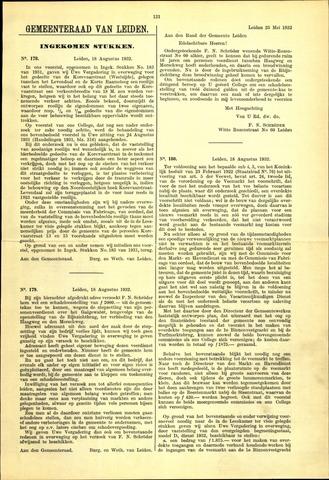 Handelingen van de Raad 1932-08-18