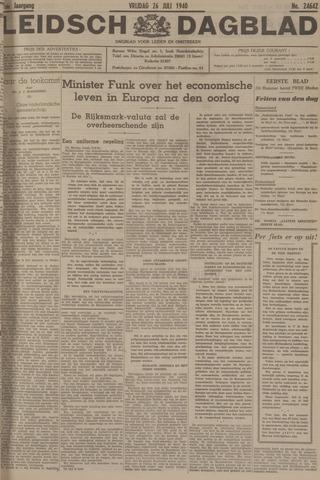 Leidsch Dagblad 1940-07-26
