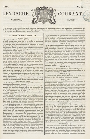 Leydse Courant 1844-07-10