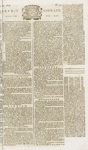 Leydse Courant 1819-05-07