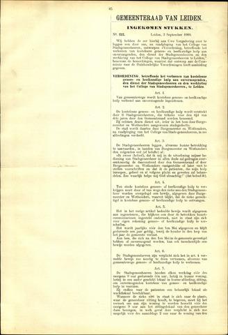 Handelingen van de Raad 1900-09-03