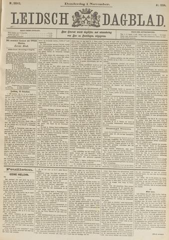 Leidsch Dagblad 1894-11-01