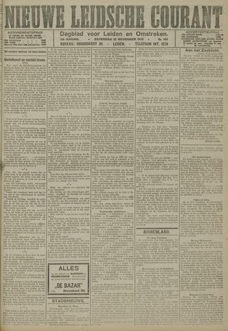 Nieuwe Leidsche Courant 1921-11-12