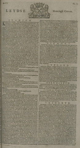Leydse Courant 1725-01-29